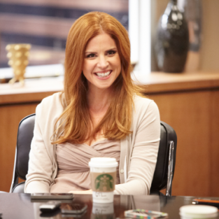 Suits Scoop: Sarah Rafferty on Season 3, Harriet Specter & British Donna