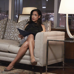 "Suits Summer Finale Preview: Gina Torres on a ""United"" Firm, Loving Louis and More"