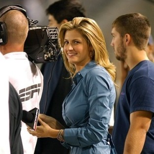Erin Andrews Campaigns for Dancing with the Stars