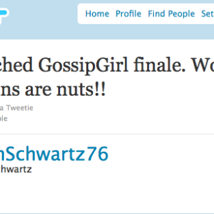 The Last Five Minutes of Gossip Girl Season 3: Nuts!