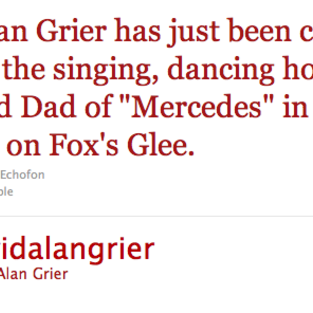 David Alan Grier: Cast on Glee?!?