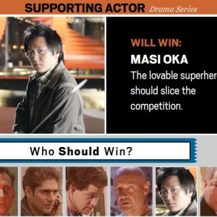 Masi Oka Will Win the Emmy Award