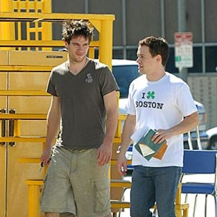 T.R. Knight Strolls Around Santa Monica