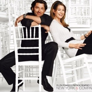 Ellen Pompeo and Patrick Dempsey For New York & Company: Holiday Style