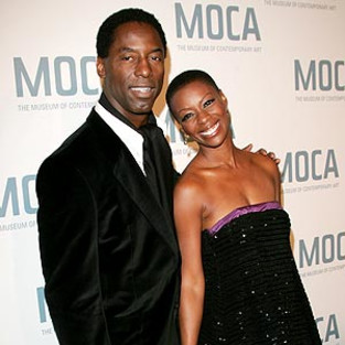 Isaiah & Jenisa Washington at MOCA Event