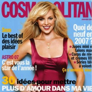 Katherine Heigl in French Cosmopolitan