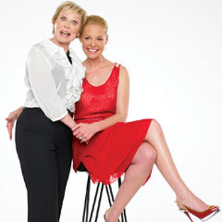 Katherine & Nancy Heigl in InStyle