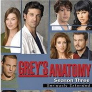 Grey's Anatomy Season Three DVD is Released