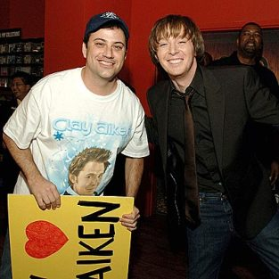 Clay Aiken Pays Visit to Jimmy Kimmel Live