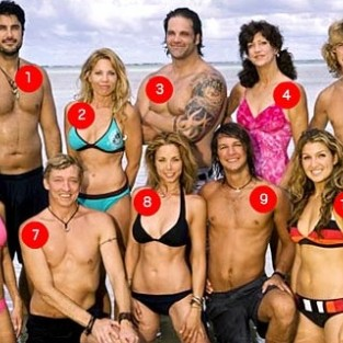 Cast of Survivor Micronesia: The Fans