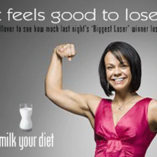 Ali Vincent Featured in Milk Campaign