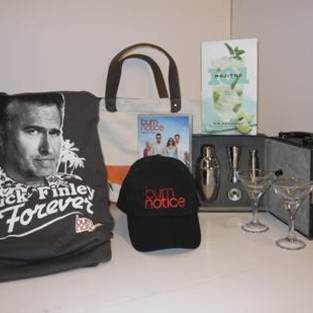 Burn Notice Scavenger Hunt: Win Free Stuff!