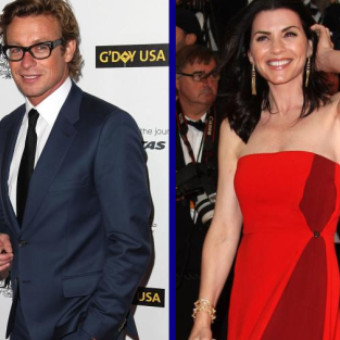 Tournament of TV Fanatic Quarterfinals: Simon Baker vs. Julianna Margulies!