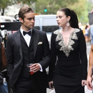 Gossip Girl Set Pics: Georgina's Back, With ...