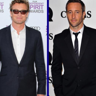 Tournament of TV Fanatic CBS Final: Simon Baker vs. Alex O'Loughlin!