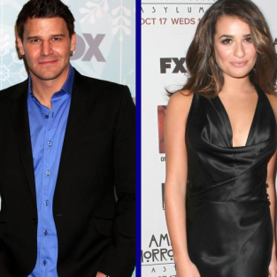 Tournament of TV Fanatic Quarterfinals: David Boreanaz vs. Lea Michele!