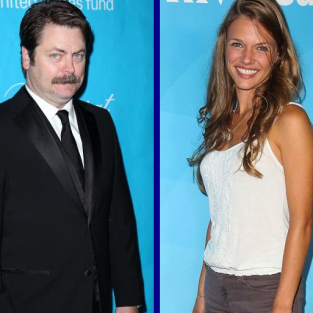 Tournament of TV Fanatic: Nick Offerman vs. Tracy Spiridakos!