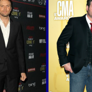 Tournament of TV Fanatic: Joel McHale vs. Blake Shelton!