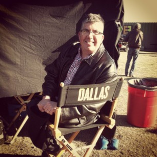 jim on set