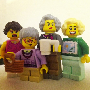 Golden Girls Lego Set: Now Available!