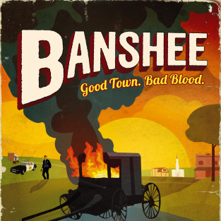 Banshee Season 2: First Trailer, Key Art