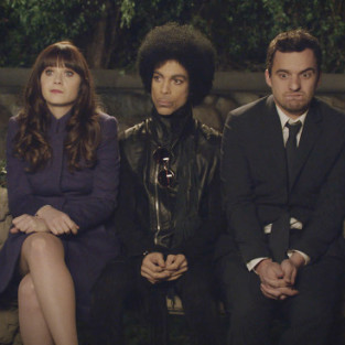 Prince on New Girl: First Look!