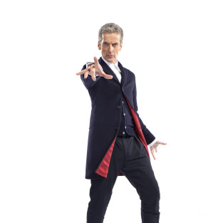 Doctor Who First Look: Peter Capaldi in Costume