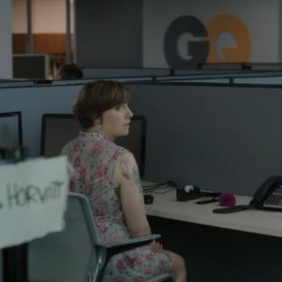 Hannahs cubicle