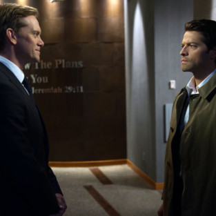 Supernatural Photo Preview: Castiel Captured!