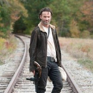 Rick on the Tracks