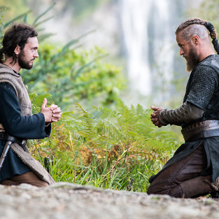 Athelstan and ragnars unique friendship
