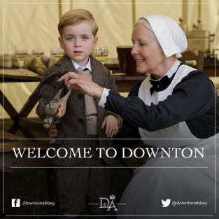 Master George Crawley - Downton Abbey