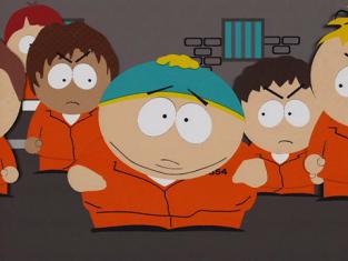 Cartman in Jail