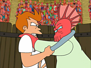 Watch Futurama Season 2 Episode 9