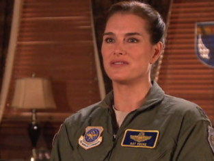 Brooke Shields on Army Wives