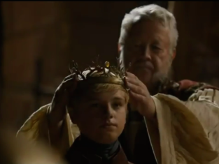 Tommen with a Crown