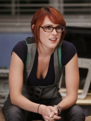 Rumer Willis on 90210