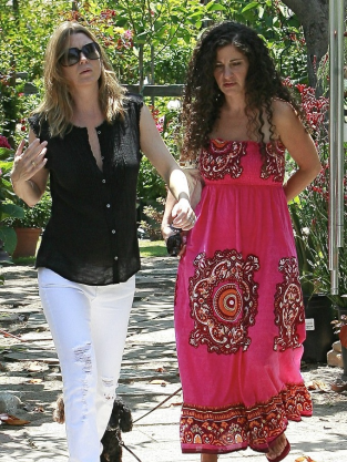 Ellen Pompeo and a Friend