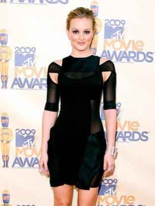 Leighton at the MTV Movie Awards