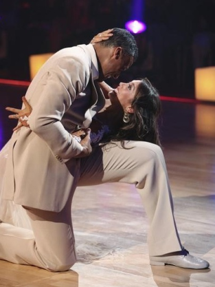 Rick Fox and Cheryl Burke