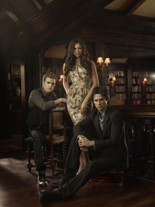 Nina Dobrev, Ian Somerhalder and Paul Wesley