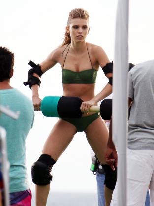 Bikini Jousting!