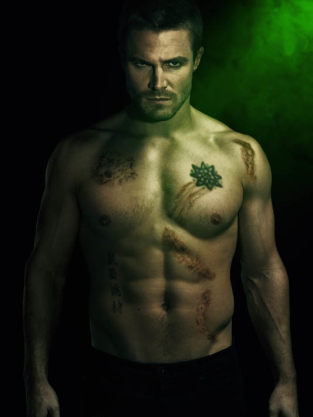 Arrow Shirtless