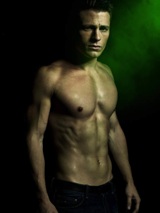 Colton Haynes Shirtless
