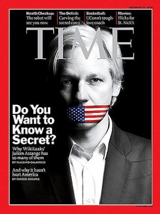 Julian Assange on Time