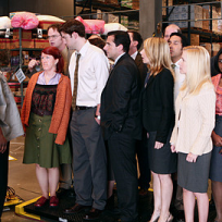 The Office Gang Being Weighed In