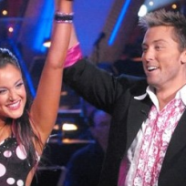 Lance Bass and Lacey Schwimmer