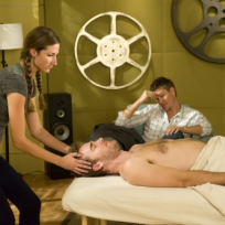 Lucas Watches a Massage