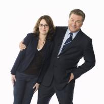 Liz Lemon and Jack Donaghy