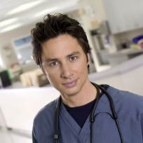 Zach braff as jd